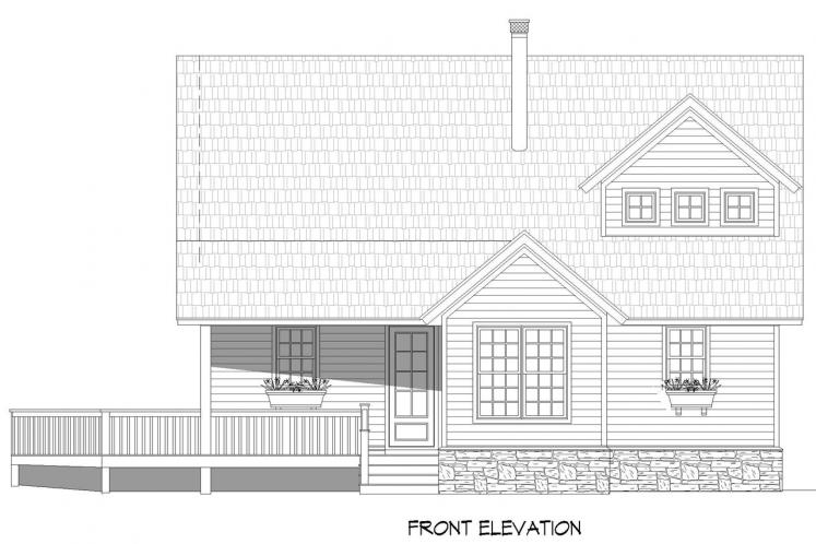 Cottage House Plan - Front Royal 47319 - Front Exterior
