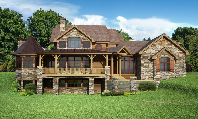 Country House Plan - Tennessee 47652 - Front Exterior