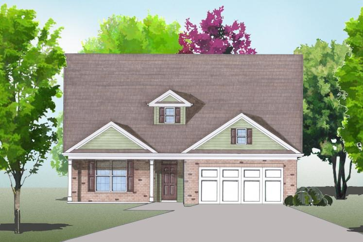 Cape Cod House Plan -  47767 - Front Exterior