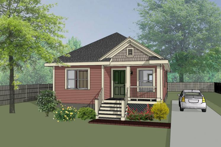 Cottage House Plan -  47911 - Front Exterior