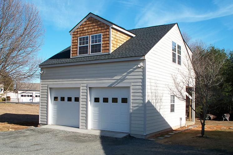 Traditional Garage Plan -  48050 - Front Exterior