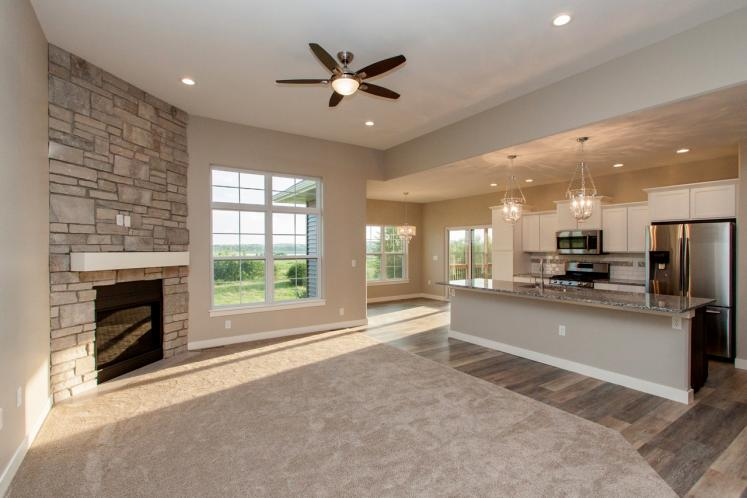 Ranch House Plan -  48187 - Great Room