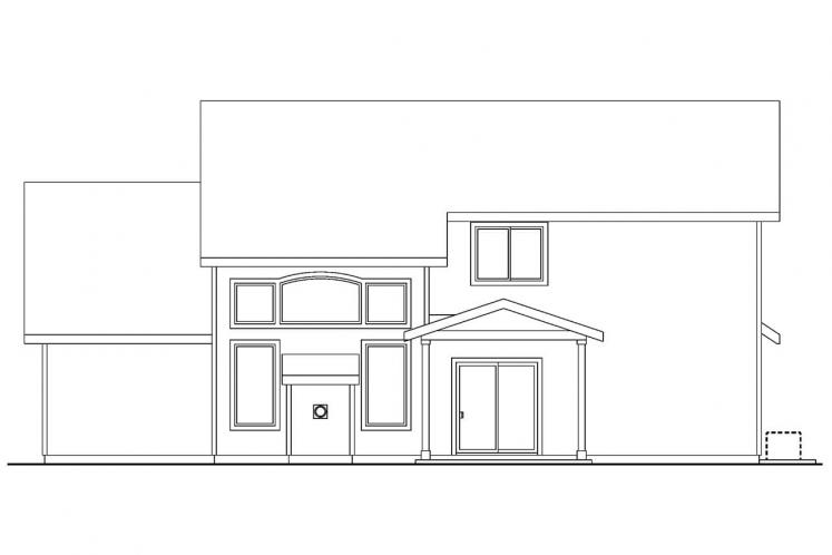 Country House Plan - Westdale 48642 - Rear Exterior
