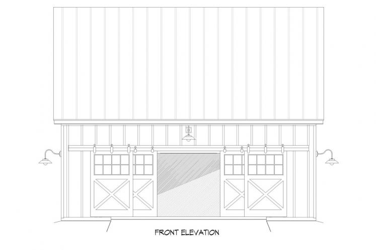 Country  - Hatters Barn 48651 - Front Exterior
