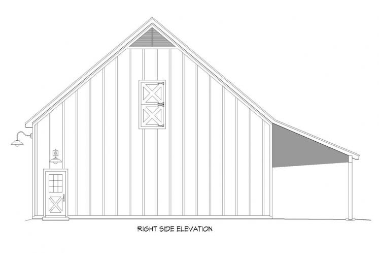 Country  - Hatters Barn 48651 - Right Exterior