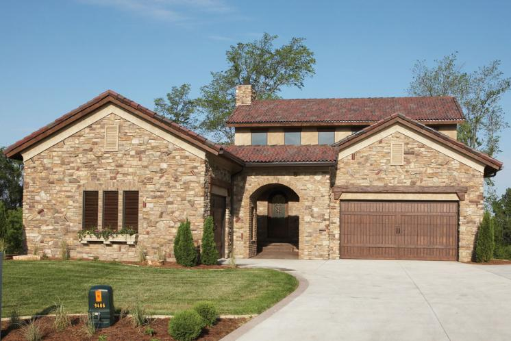 Tuscan House Plan -  48954 - Front Exterior