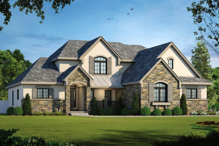 Country House Plan - Peony 49259 - Front Exterior
