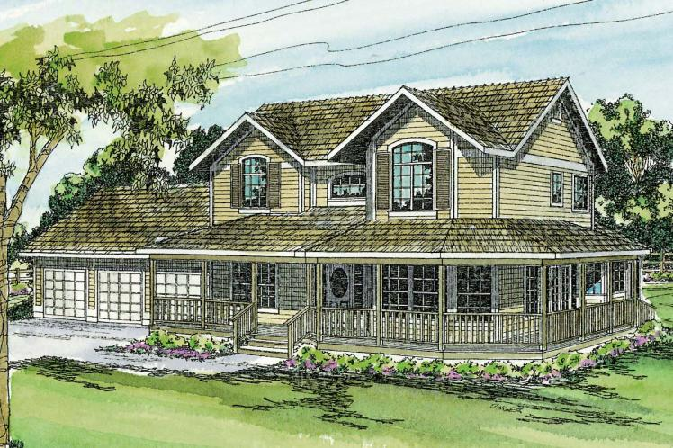 Country House Plan - Morgan 49310 - Front Exterior
