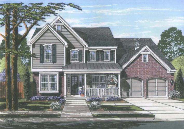 Traditional House Plan - The Montclaire 49373 - Front Exterior