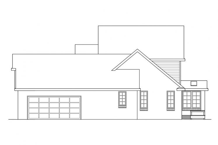 Country House Plan - Birmingham 49627 - Right Exterior