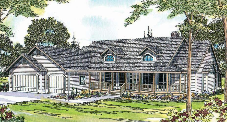 Country House Plan - Lassen 49766 - Front Exterior