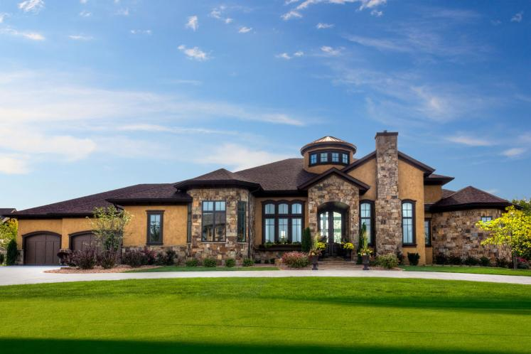 Tuscan House Plan -  49805 - Front Exterior