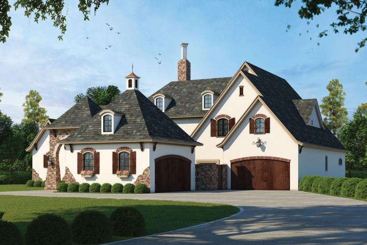 Country House Plan - Ashwood Manor 50085 - Front Exterior