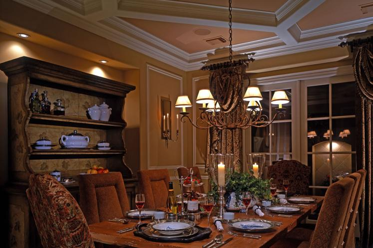 Country House Plan - Ashwood Manor 50085 - Dining Room