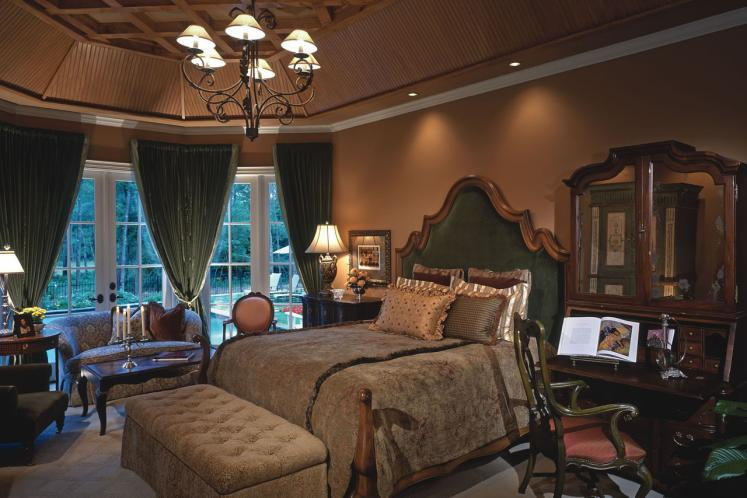 Country House Plan - Ashwood Manor 50085 - Master Bedroom