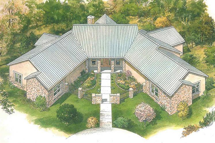 Country House Plan - Brookmeadow 50121 - Front Exterior