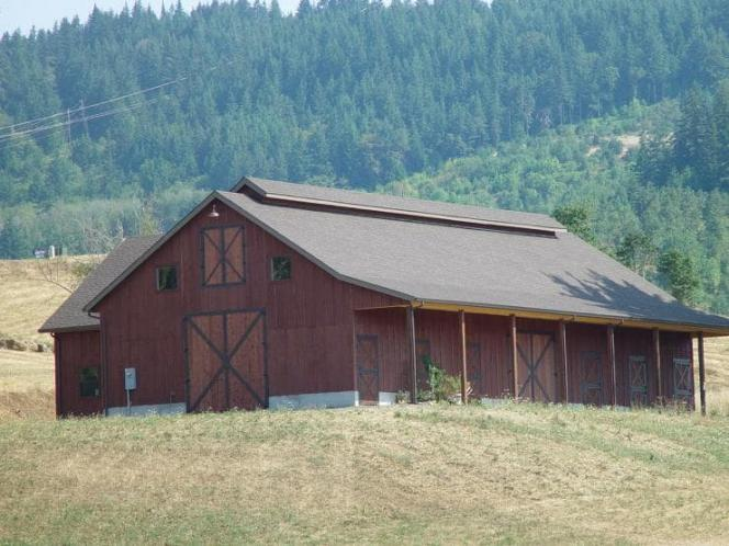 Traditional  - Barn 51127 - Front Exterior