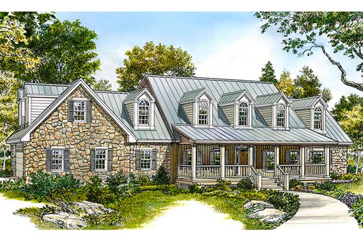 Country House Plan - Inglewood 51140 - Front Exterior