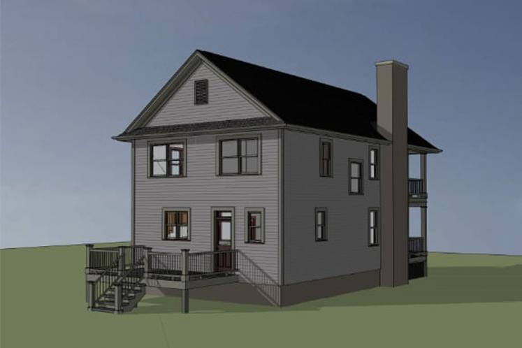 Southern House Plan -  51220 - Left Exterior