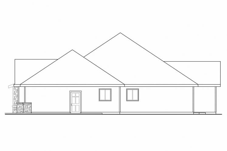 Cottage House Plan - River Grove 51645 - Right Exterior