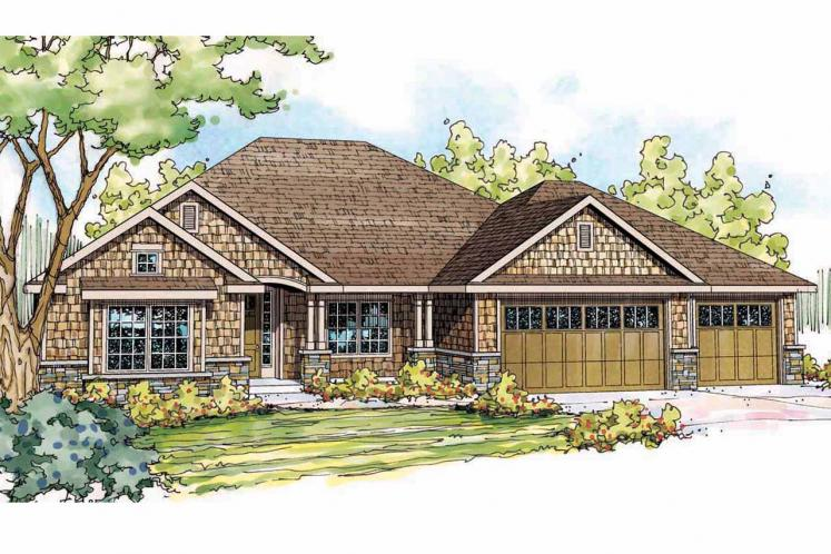 Cottage House Plan - River Grove 51645 - Front Exterior