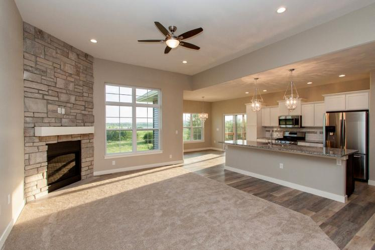 Contemporary House Plan -  52416 - Great Room