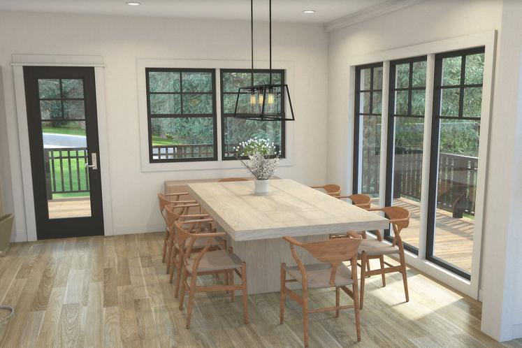 Bungalow House Plan - Stratford 53091 - Dining Room
