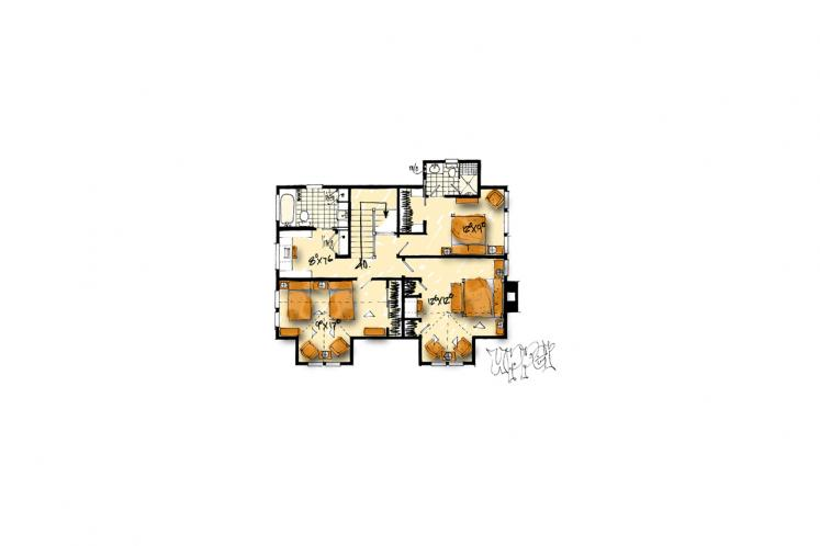 Country House Plan - Summerfield 53614 - 2nd Floor Plan