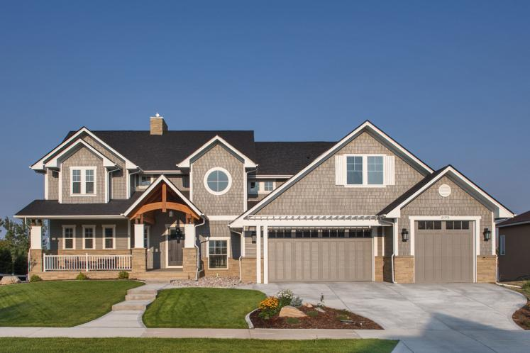 Cape Cod House Plan - Gladewater 53977 - Front Exterior