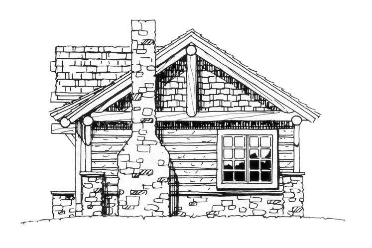 Cottage House Plan - Cub Creek 54439 - Right Exterior