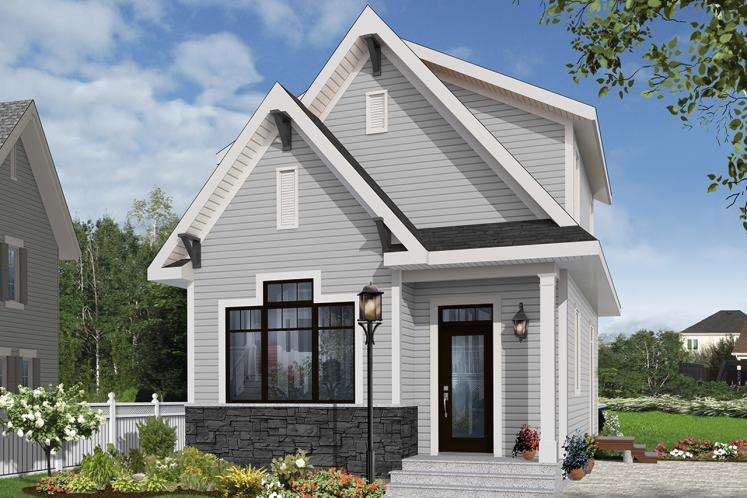 Country House Plan - Melia 54637 - Front Exterior