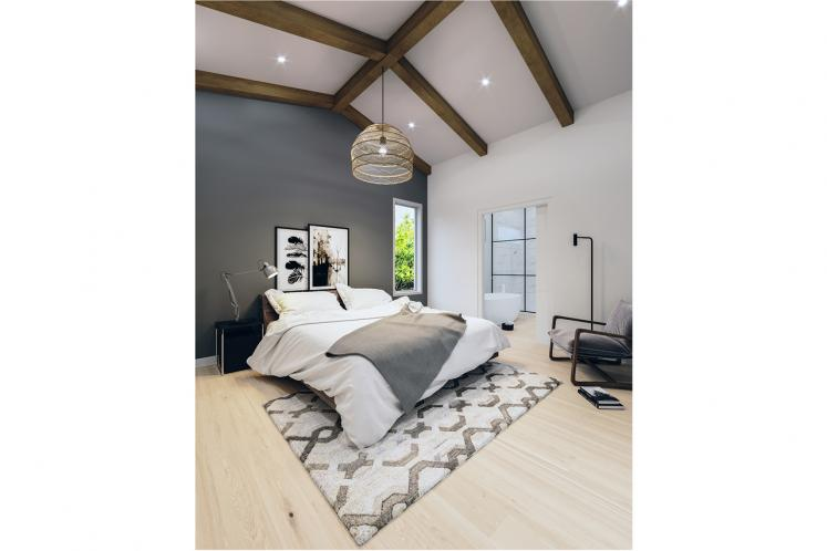 Contemporary House Plan - Hygge 54859 - Master Bedroom