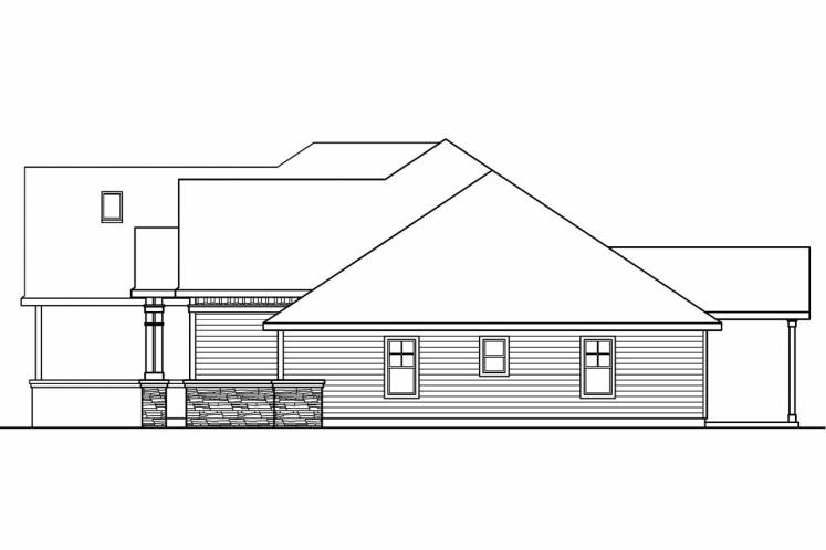 Cottage House Plan - Innsbrook 55498 - Right Exterior