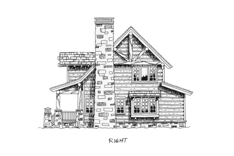Country House Plan - Laramie 56656 - Right Exterior