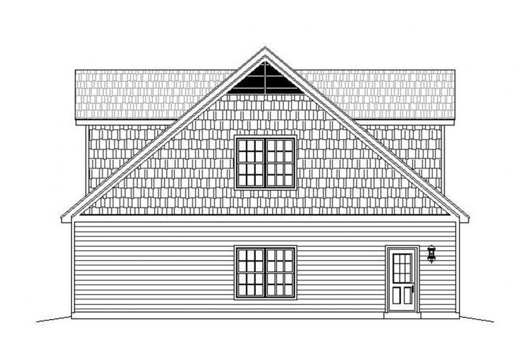 Traditional Garage Plan - Legard Farms 56974 - Left Exterior