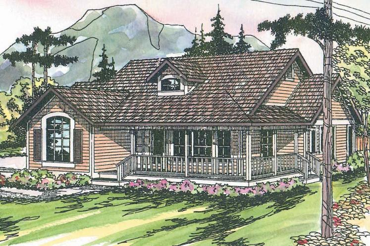 Country House Plan - Ann Arbor 57579 - Front Exterior