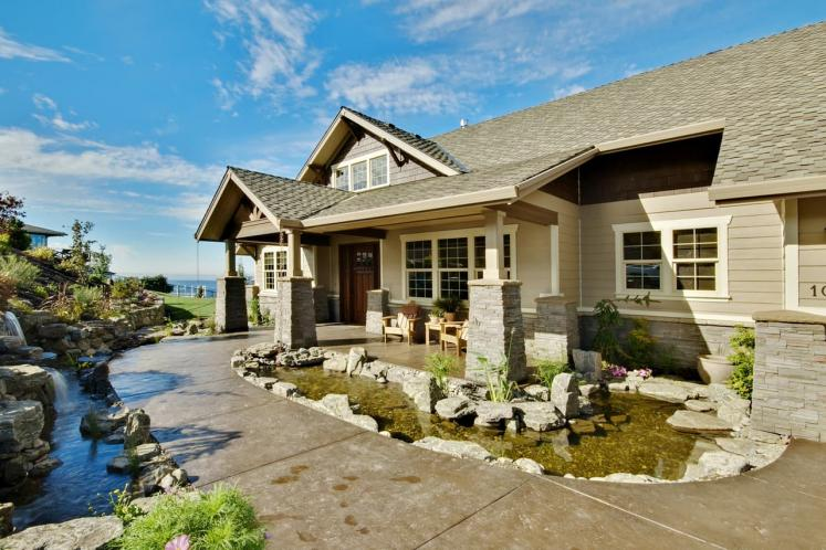 Craftsman House Plan - Pacifica 57626 - Front Exterior