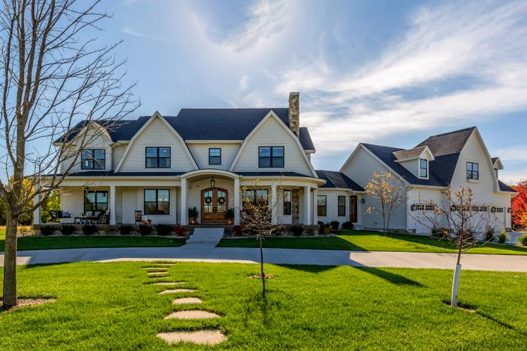 Classic House Plan -  57960 - Front Exterior