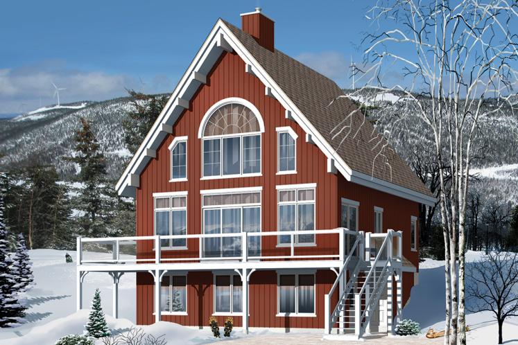 Country House Plan - Skylark 2 58613 - Front Exterior