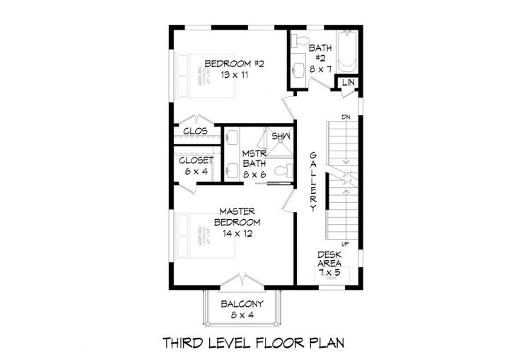 Contemporary House Plan - Tanglewood 58634 - Other Floor Plan