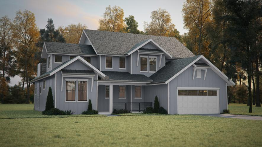Country House Plan - Turkey Creek 58716 - Front Exterior