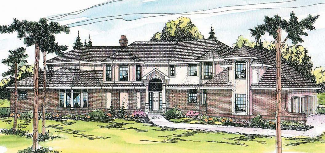 Tudor House Plan - Cheshire 58953 - Front Exterior