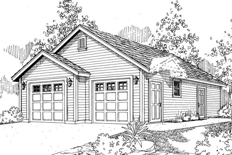 Cottage House Plan - Callahan 59137