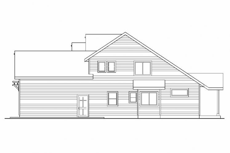 Cottage House Plan - Elkhorn 59221 - Right Exterior