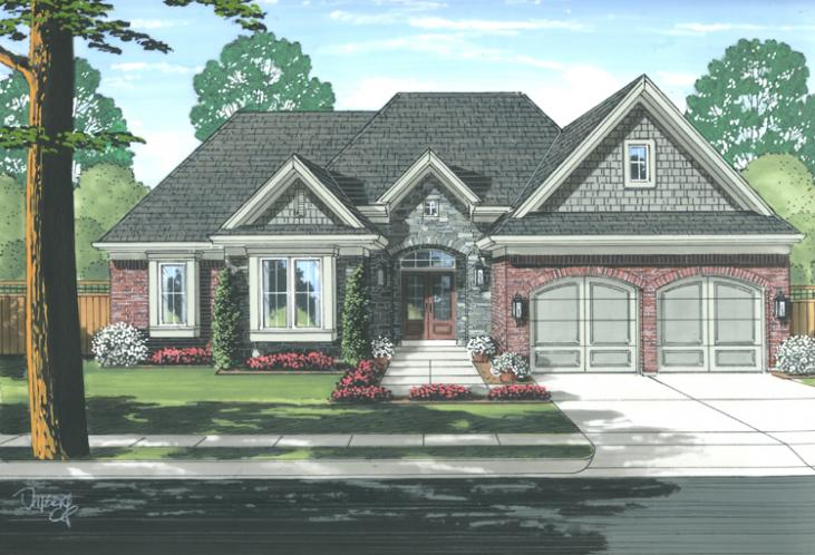 Ranch House Plan - Antioch 59226 - Front Exterior