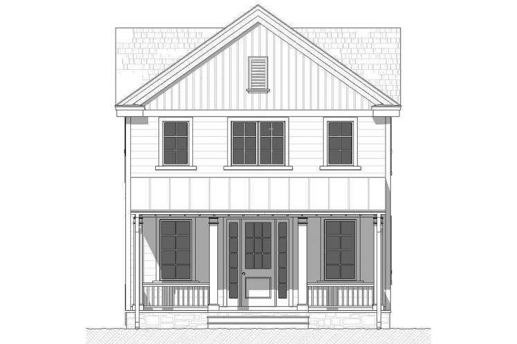 Cottage House Plan - Lansing 59312 - Front Exterior