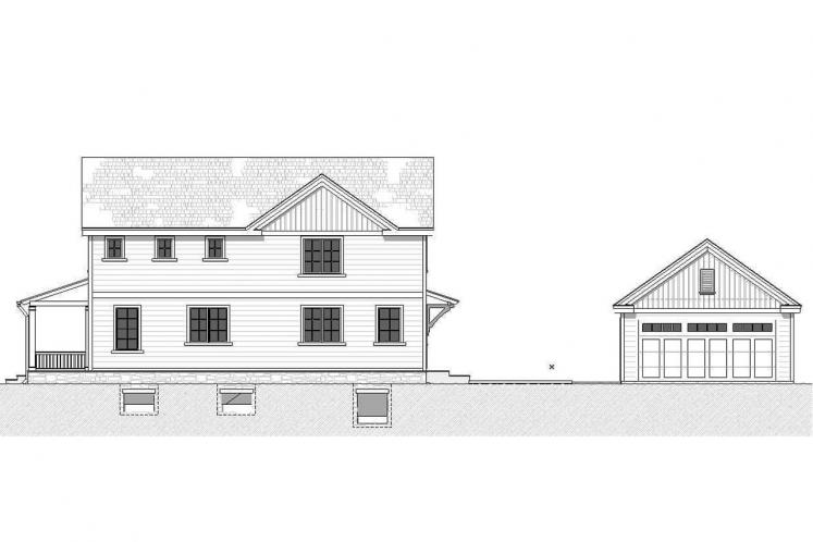 Cottage House Plan - Lansing 59312 - Right Exterior