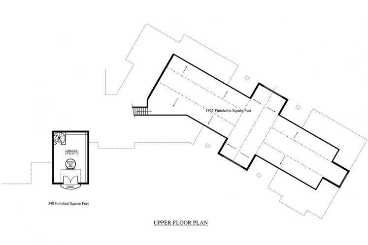 Classic House Plan - Sterling 59582 - 2nd Floor Plan