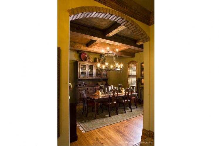 Classic House Plan - Sterling 59582 - Dining Room