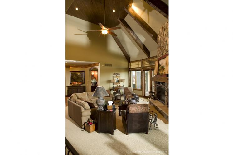 Classic House Plan - Sterling 59582 - Living Room